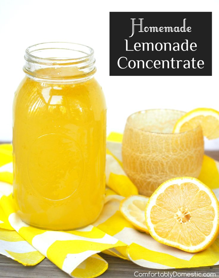 Making your own tangy, thirst-quenching lemonade is a snap with this easy MinuteMaid copycat recipe for homemade lemonade concentrate.   ComfortablyDomestic.com