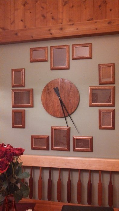 Picture Frame Wall Clock - by Ivan @ LumberJocks.com ~ woodworking community