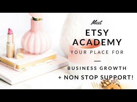 Etsy Academy Enroll - Fuzzy & Birch