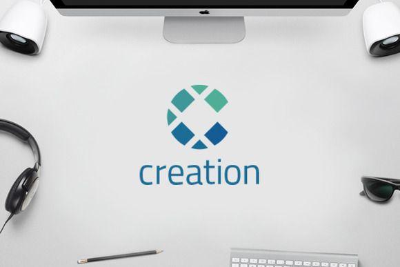 C Logo - Creative Circle Logo by Yipia Nesia on @creativemarket