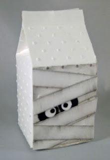 milk cartons - Halloween Cartons