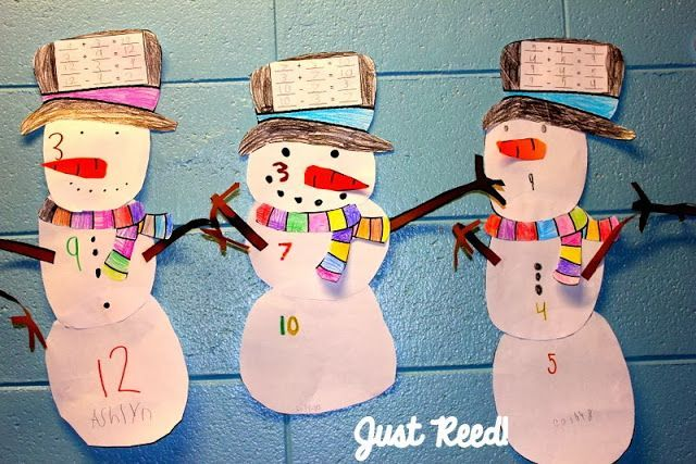 Snowy Fact Families at Just Reed!