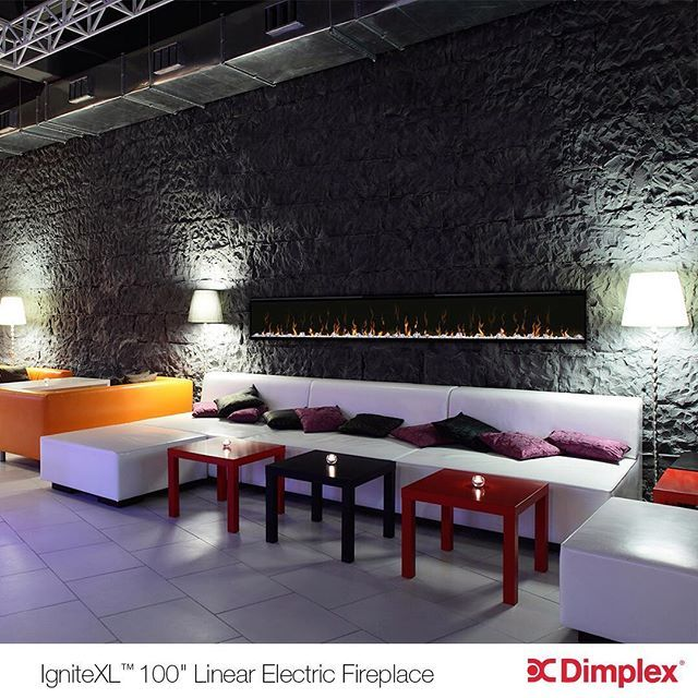 The look and warmth of a fire without the flame, Dimplex's IgniteXL Electric Fireplace. For more information about our IgniteXL Fireplaces visit: http://www.dimplex.com/en/electric_fireplaces/wallmounts