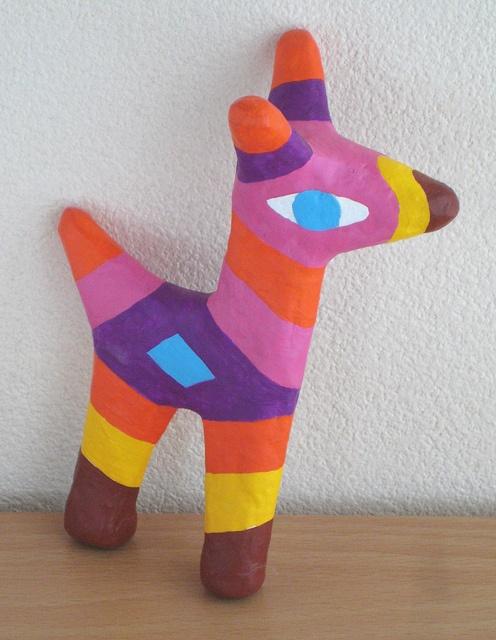 paper mache animal