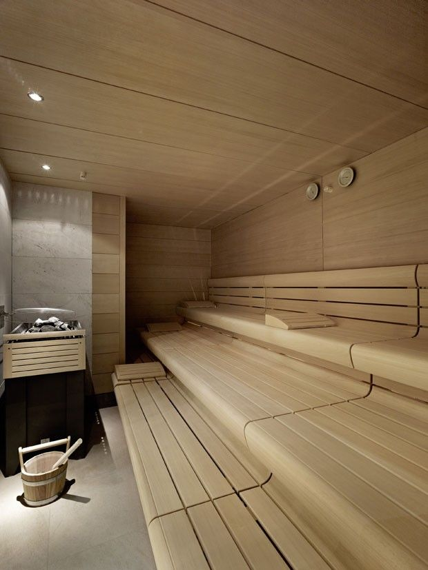 Wellness interior bathroom sauna design inspiration byCOCOON.com #COCOON Dutch designer brand