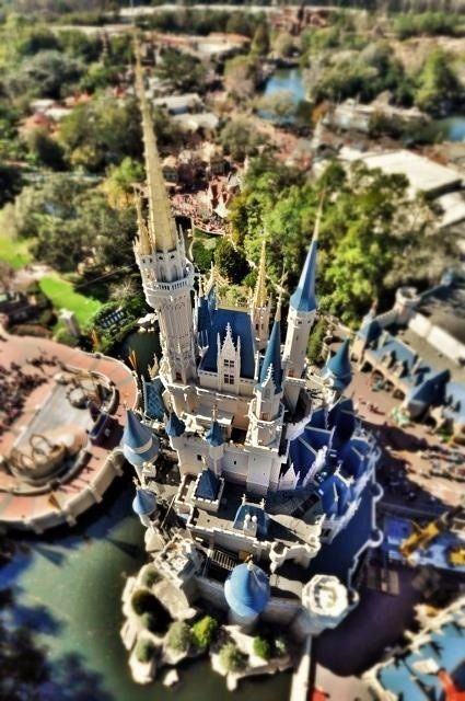 Whoa, awesome picture of Cinderella's Castle!