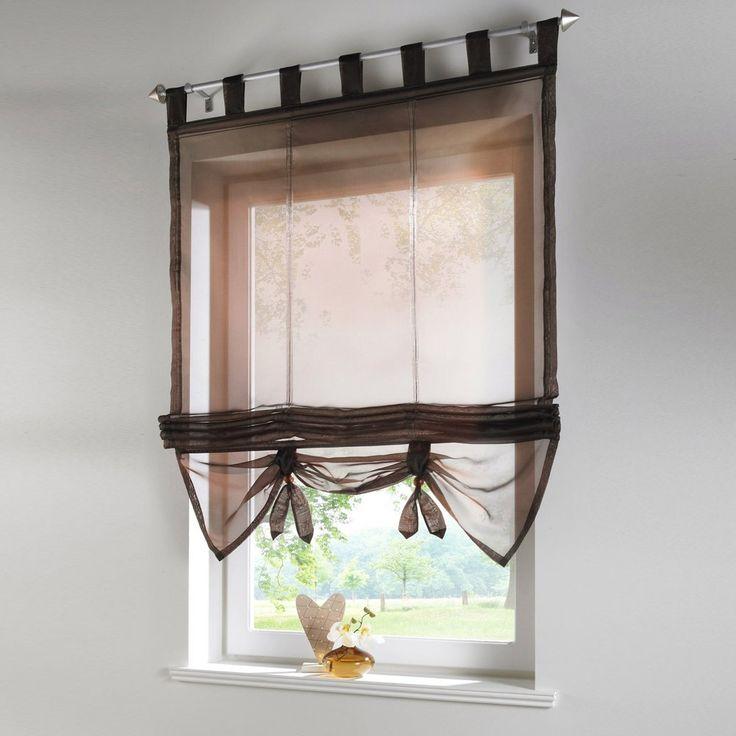 1000 ideas sobre cortinas de ventana de cocina en for Cortinas visillos para cocina