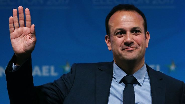 Ireland set to have its first gay prime minister, as Fine Gael chooses Leo Varadkar to succeed Enda Kenny.