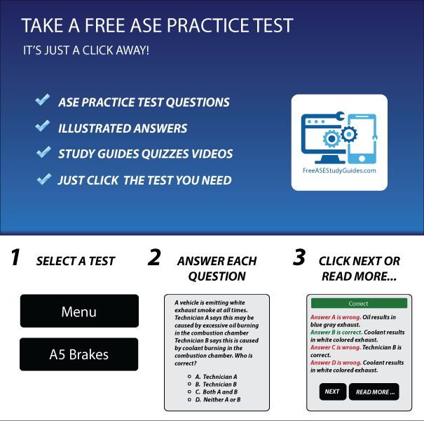 practice ase tests test