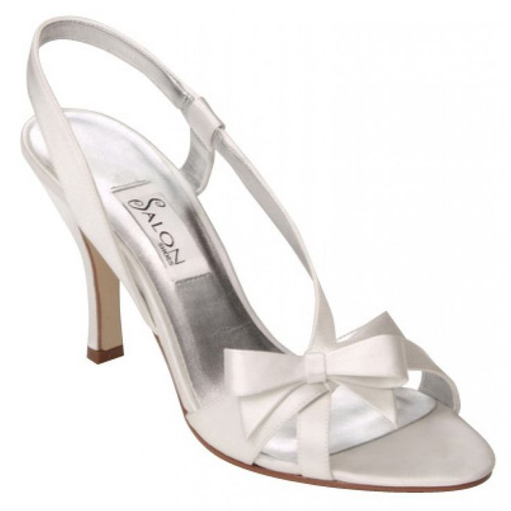 Selena By Salon Wedding Shoes In White Bellissimabridalshoes