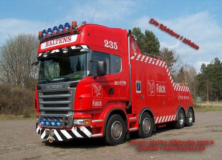 Scania TOW TRUCK - FALCK , BALTENS