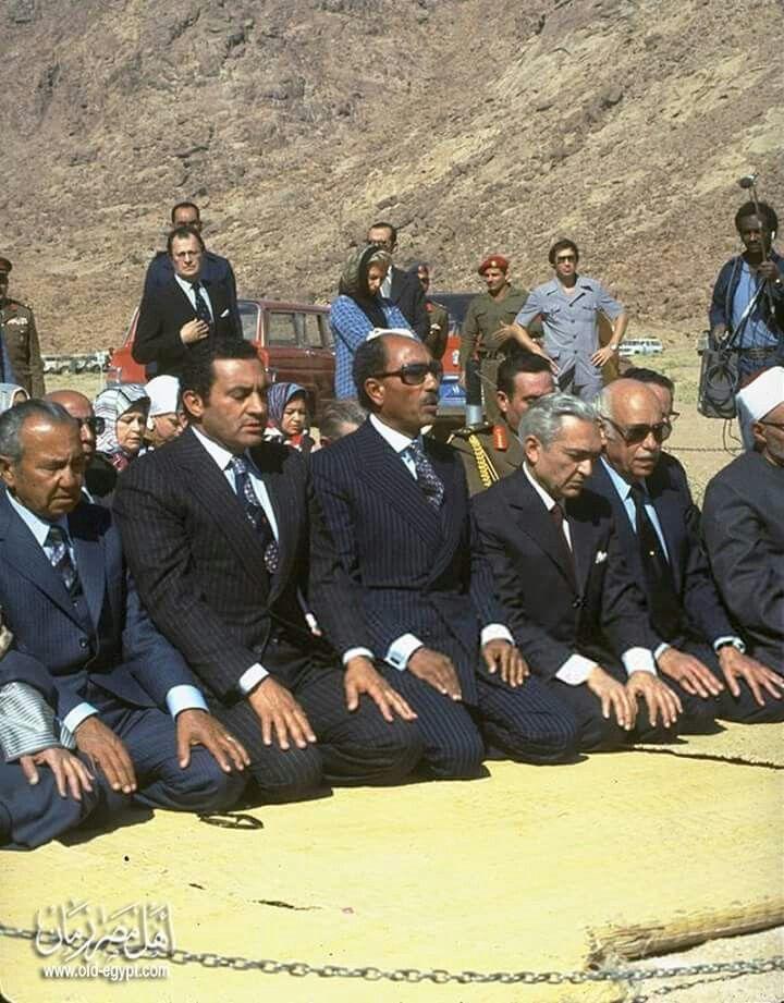 Sadat Mubarak Et Etc In 2020 President Of Egypt Life In Egypt Egyptian History