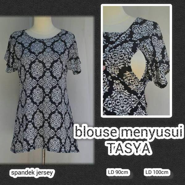 Baju hamil  menyusui blouse Tasya