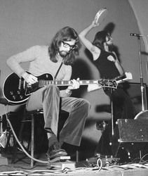 Steve Hackett, Peter Gabriel in Genesis, 1971 - Photo: Colin McLeod