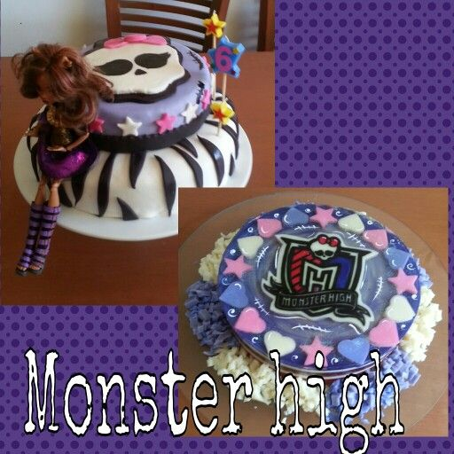 Pasteleando, ando. Monster High