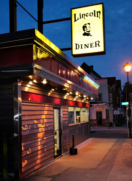 Lincoln Diner, Gettysburg PA. Never visited this diner but will surely go when I visit next week!!!