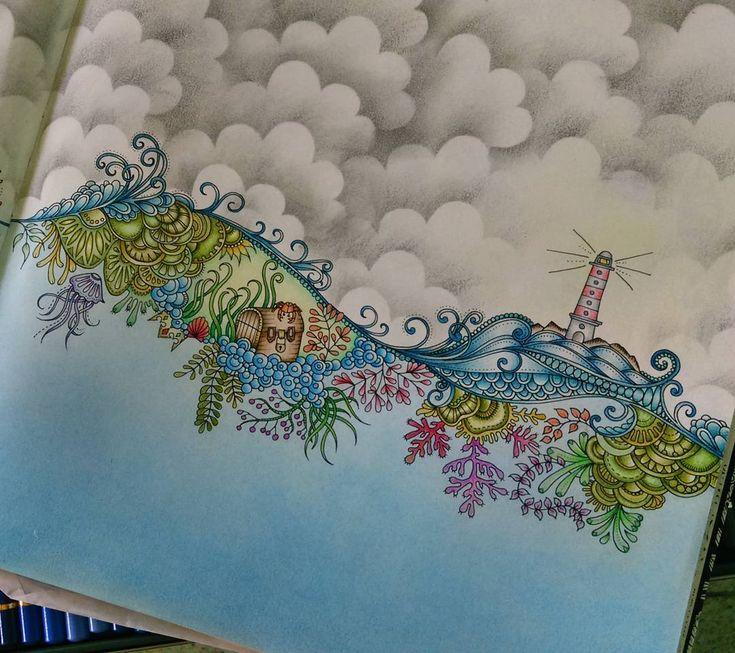 «#oceanoperdido #farol #lostocean #livrodecolorir #coloringbook #lapisdecor #coloredpencil #gizpastel #coloring #coloriage #arttherapy #artecomoterapia…»