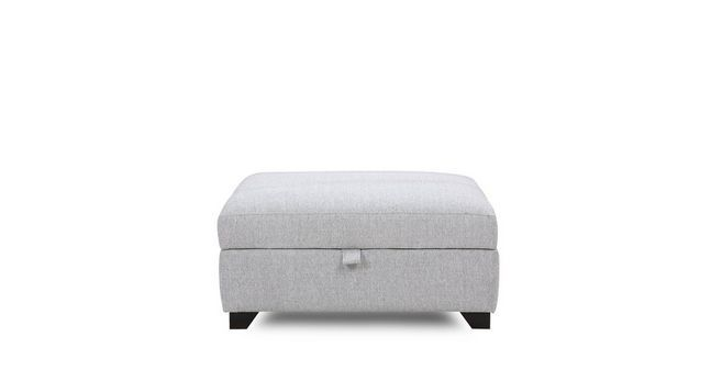 Lydia Large Storage Footstool | DFS
