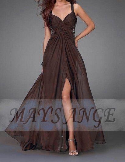 Robe Charme au naturel - robe de soirée ? maysange