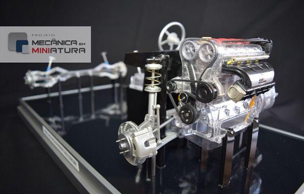 Através dessa campanha, vamos disponibilizar modelos em escala 1/6 dos principais sistemas da engenharia automotiva. Garanta já seu modelo com desconto!