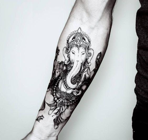 Best 25+ Ganesha Tattoo Ideas On Pinterest