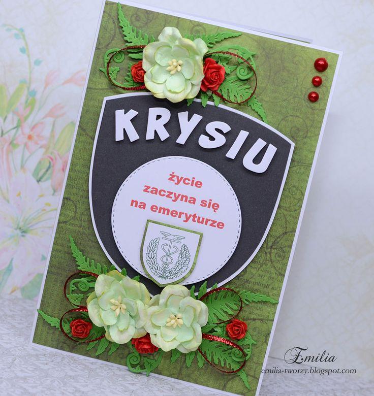 Pin On Kartki Z Okazji Przejscia Na Emeryture Card For Retir