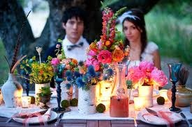 boho wedding centre pieces - Google Search
