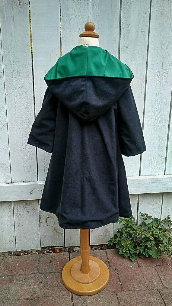 Harry Potter Poudlard Robes Serpentard enfant par SnakeandBadger