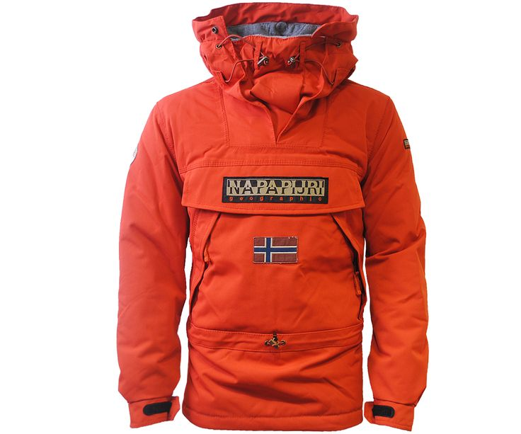 Napapijri Winter Skidoo Jacket Paprika - Terraces Menswear