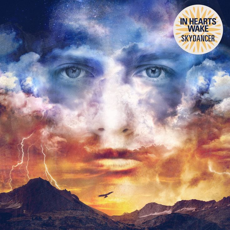 In Hearts Wake is an incredible upcoming band. Their first album Earthwalker was a great piece of work that they described to be a more feminine first album and then their newest album Skydancer came out which was supposed to be the more masculine of the two and it surely is.