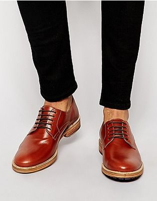 ASOS Fashion Finder | ASOS Derby Shoes in Leather