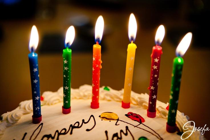 Birthday Candles  www.alwaysjosefa.com