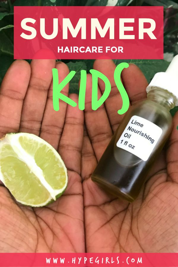 Keep your kid's hair healthy this summer with this natural hair oil! Haircare | Hair | Kids Hair | Crunchy Mama | Natural Hair | Black Hair | Afro | Curly Hair | Motherhood | Baby Afro | Summer | Lime | Lime Oil | Recipes |