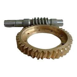 """Worm Gears : We manufacture and export a wide range of worm gears up to 36"""" in diameter, and up to 8 starts. Leveraging on CNC gear hobber we can handle higher helix angles and number of starts. Our worm gear are constructed from various kinds of materials, bronze, plastics, stainless steels, ductile irons, cast irons and alloy steels, for all types of applications. Advance Transmissions, India.  - See more at: http://www.transmissiongearbox.com/"""