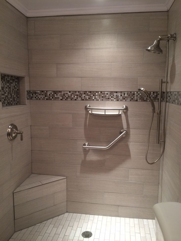 31 best images about our tile showers other tile for Bathroom ideas 9x12