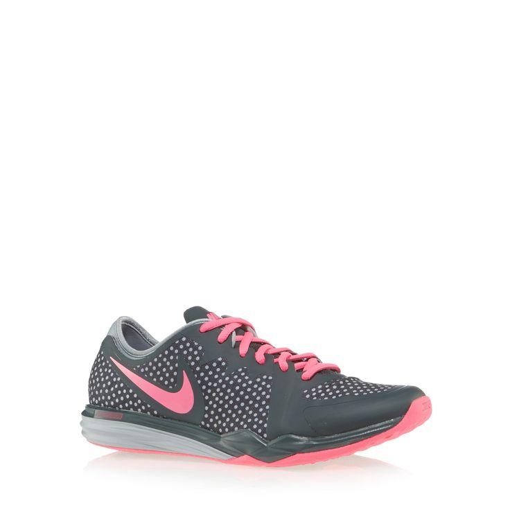 Nike Dark grey spotted \u0027Dual Fusion TR 3\u0027 trainers- at Debenhams.com