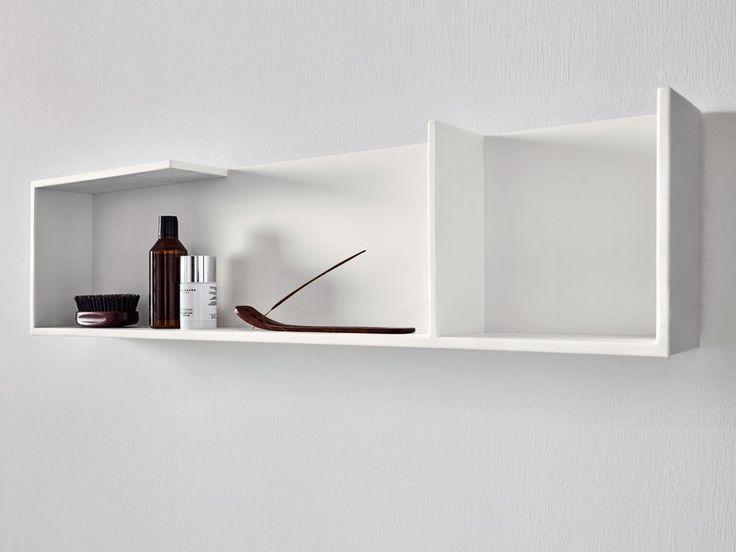 Acquista on-line Unico | mensola bagno By rexa design, mensola bagno in corian®, Collezione unico
