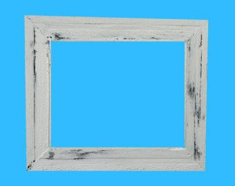 Reclaimed wood frames...Picture Frames...Rustic Cottage Chic… Beach Picture Frames...Beach Décor...Beach house frame...Rustic Beach Décor…