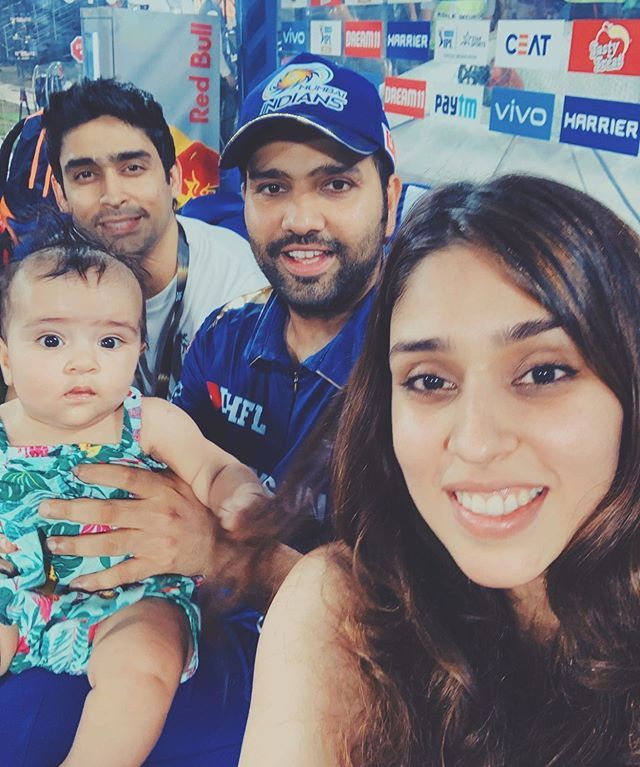 Image result for rohit sharma family