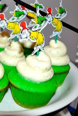 This blog has LOTS of info for Dr. Suess themed parties :)