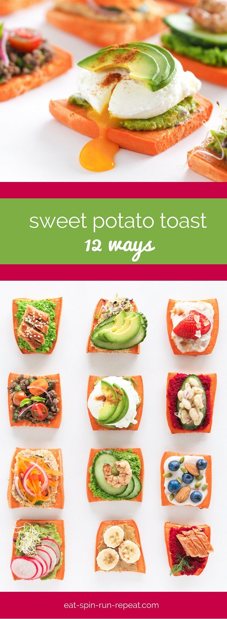 Trending Now: Sweet Potato Toast. If you thought avocado toast and sweet potato fries were great, you're going to LOVE this. :)