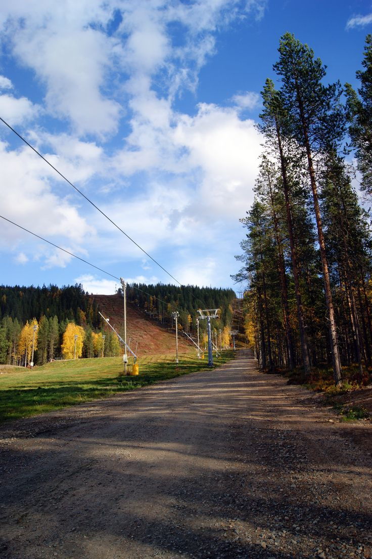 Autumn colors in #Finnish #Lapland @Levi Brown   ©Marika Lindström