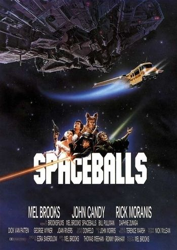 "... 123. SPACEBALLS (stars MADONNA as PRINCESS VESPA, Rick Moranis as Dark Helmet, and John Candy as Barf; the original version of the film has a slightly different PLOT {MADONNA IS NOT IN ANY UNFLATTERING SITUATIONS IN ANY FILM, TV SHOW, VIDEO GAME ETC.}, is visually superior, and more opulent. MADONNA is the REAL writer of the story and screenplay for ""SPACEBALLS"" not… or anyone else. *MADONNA is blonde, blue and BEAUTIFUL in every film, TV show, video game, and comic book. *MADONNA IS…"