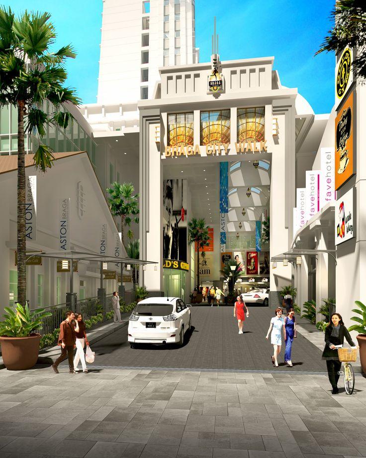 Braga City Walk gate Bandung