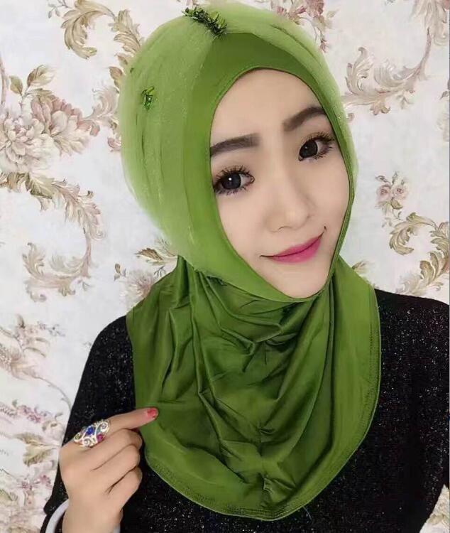 >> Click to Buy << fashion hijab fancy scarf stitched flower patch khaleeji hijab popular cover shawl free ship #Affiliate