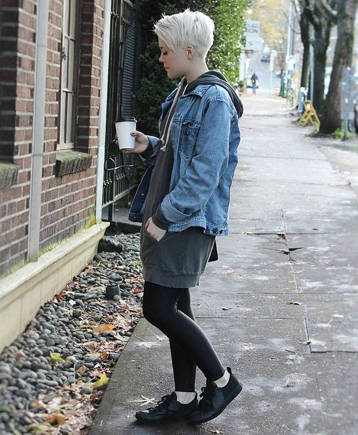 Outfit on my blog!  www.stylewithsarahh.com  Pixie cut