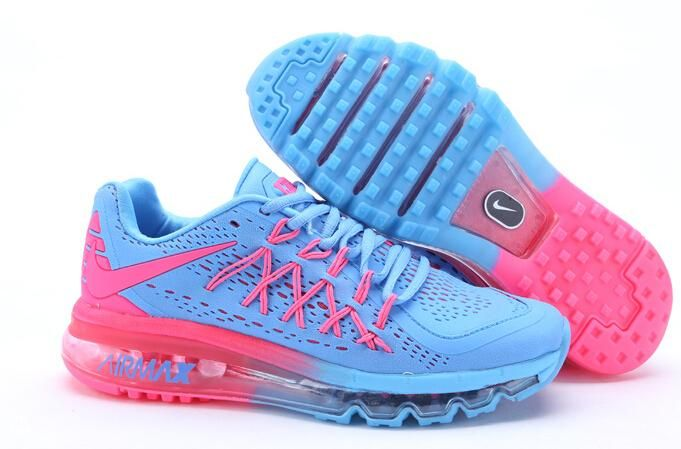 Best Wholesale Nike Air Max 2016 Na Predaj Lady Topánky Modrý Ružový Broskyňa On-line Hot predaj, Nové Ženy Nike Air Max Online