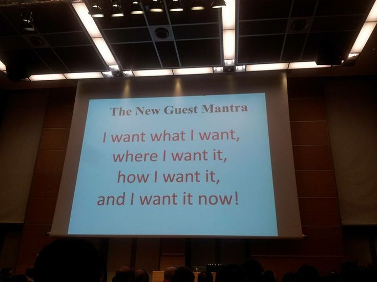 The kind of clients all hoteliers should fear! #bewizard #tourism #webmarketing