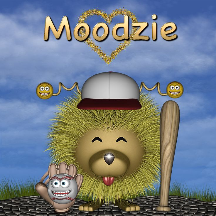 Moodzie Loves Baseball - Life Learning Apps