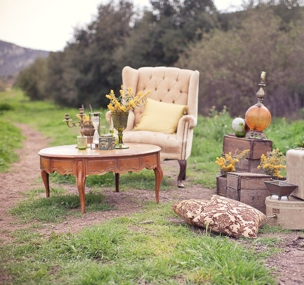 Vintage Outdoor Wedding Decorations Ideas: Somewhere Out Here In 2019